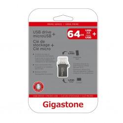 GIGASTONE - DRIVE USB PRIME SERIES 64GB OTG