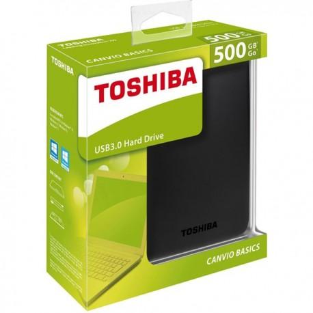 TOSHIBA Canvio 500go