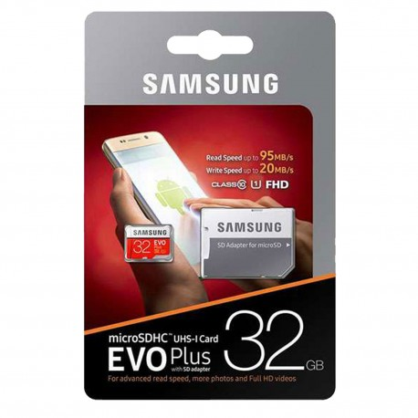 SAMSUNG MICROSHDC 32GB CLASS 10