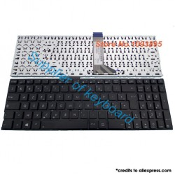 Clavier de remplacement AZERTY pour ASUS X555UF - X555UJ - X555YA - X555YI - R556ID - A555ID