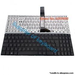 Clavier de remplacement AZERTY pour ASUS A550/X550 BLACK